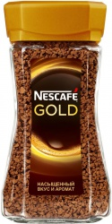 "Кофе ""Nescafe Gold"" растворимый с/б 190гр./6шт."
