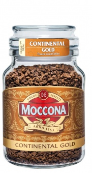 "Кофе ""Moccona Continental Gold"" растворимый с/б 95гр./12шт."